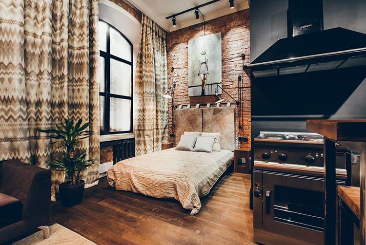 Купить квартиру лофт в Москве