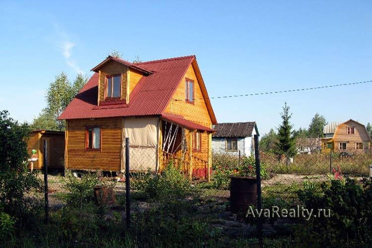 Купить недорогой дачный дом